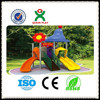rubber flooring for exterior playground/plastic toy dog playground equipment for sale/plastic spiral slide QX-B1402
