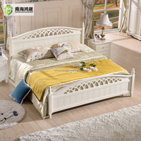 White Simple Design Wooden Bedroom Furniture