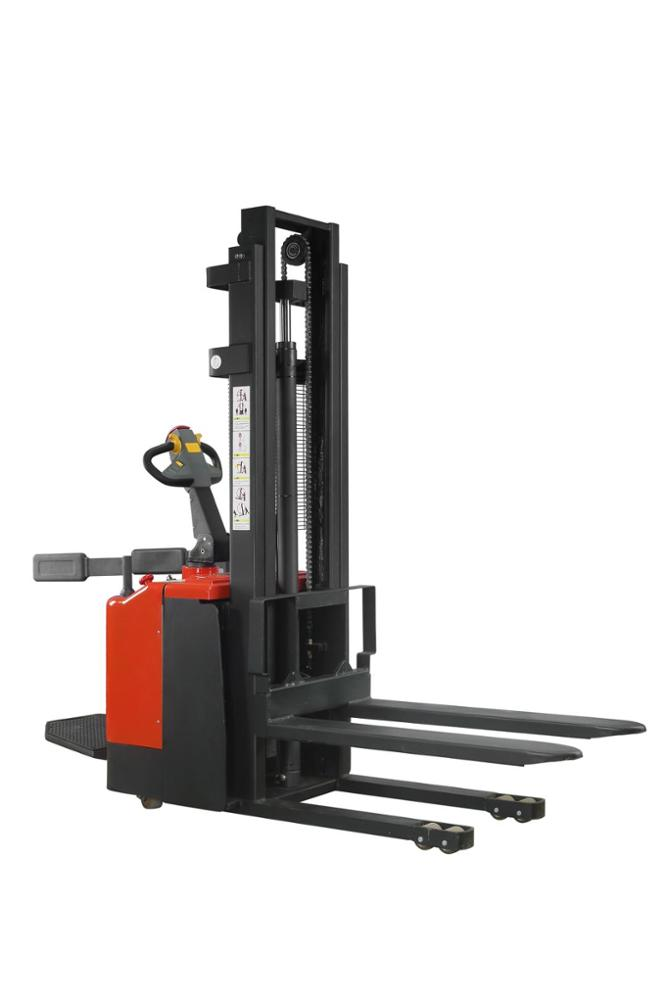 Power Drive and Lift Stacker Lift 1000KG 1500KG 3m 4m Capacity