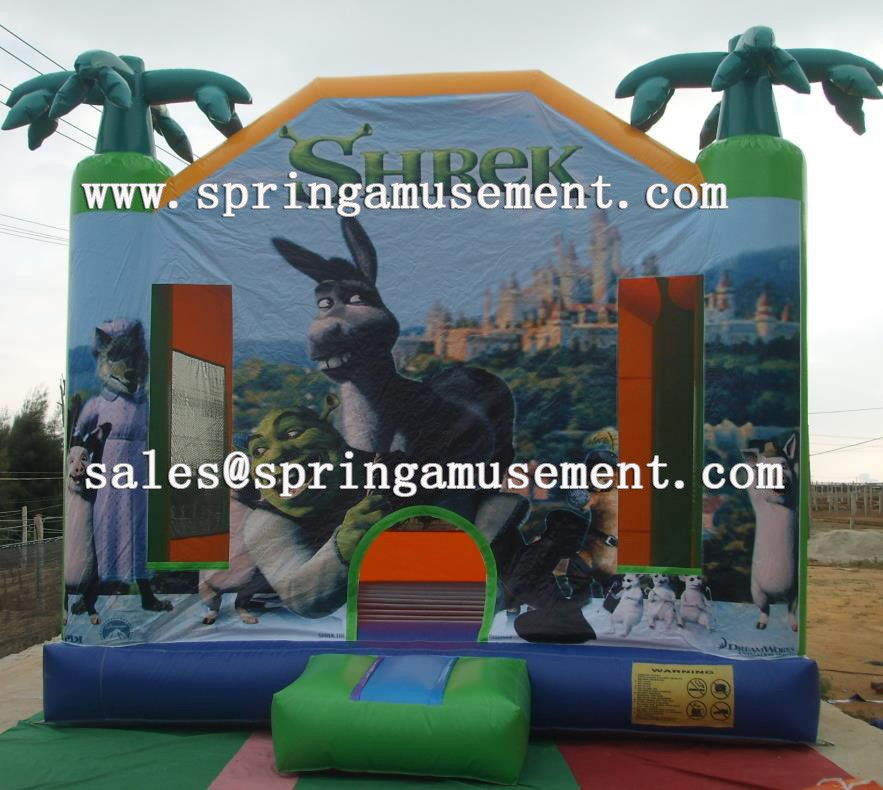 Cheap inflatable bouncer, inflatable art panels for sale SP-PP023