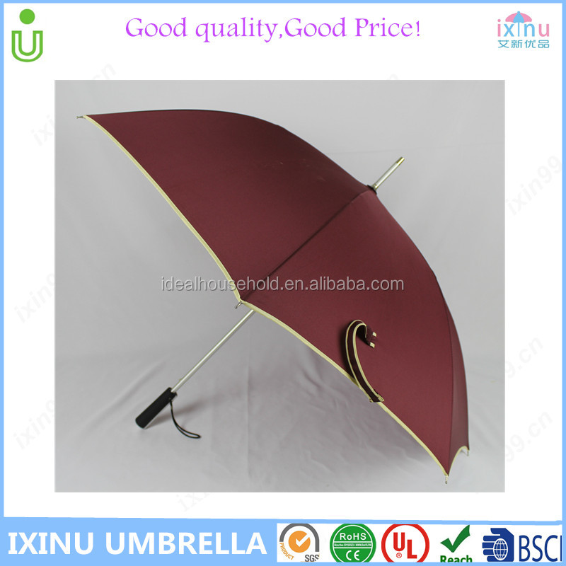 AluminiumWindproof Golf Umbrella 62 inch Oversize Canopy Automatic Open Large Outdoor Golf umbrella