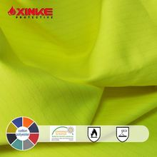 CVC60/40 Light weigh Fire proof Anti static oil repellent fabrics