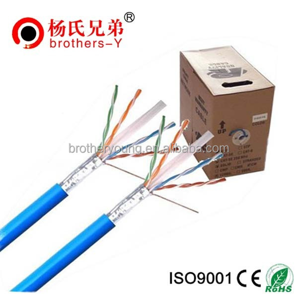 best price 300m cat6 utp network cable stp cat6 lan cable cat6 full copper lan cable 23awg