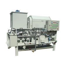 Belt press manufacturers automatic horizontal vacuum belt filter