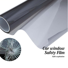 High quality safety explosion-proof car window glass safety film 4mil solar safety film