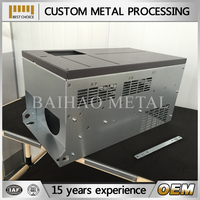 aluminum case/stainless steel sheet metal case