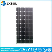 Multi-purpose 150w Monocrystalline Photovoltaic Solar panel with High efficiency