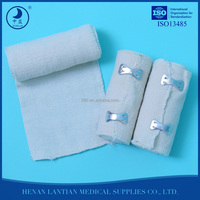 Medical polyester and rubber high elastic bandage