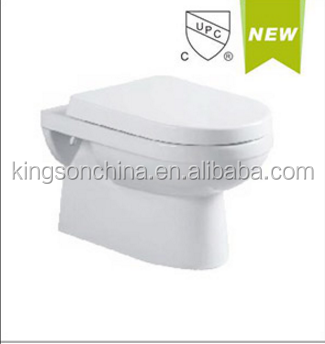 UD1461 cupc wall hung toilet concealed cistern for North America
