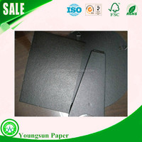 black photo album paperboard black paper board sheet and roll