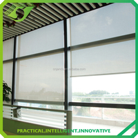 JNS Hot selling simple style ready made outdoor blind anti-UV finished roller curtain blinds with accessory