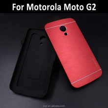 New Motomo Hybrid Metal Aluminum Brushed Hard Cover For Motorola Moto X E E2 G2 G3 G 3rd gen case