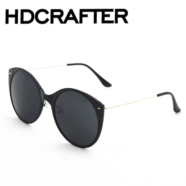 NEW CATEYE SUNGLASSES MIRROR LENS UV400 THIN LIGHT ALLOY LEG NOSE PAD CLEAR TRANSPARENT COLOR FASHION COMFORTABLE