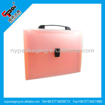 Factory pocket expanding portable box file