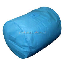 Large Breathable Duvet Storage Bags - Also Great As A Laundry Sack Or For Bedding Storage - Light Blue
