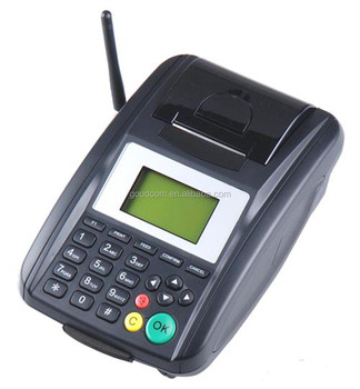GPRS Handheld Order Thermal Printer GSM Airtime TopUp Loyalty Lotto Utility Terminal, SMS GPRS POS