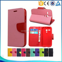 Hot sale Mixed colors pu leather flip cover case for OPPO N1