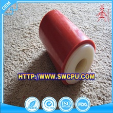 Hard small rubber roller for woodworking machinery