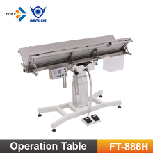 FT-886H Vertical Lifting Pet Surgery Table Veterinary Supply Heating Operation Surgical Table with Heating System