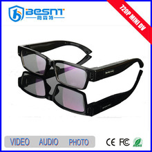 BESNT HD 720p eyeglasses dvr camera, AVI Sunglasses mini Camera Security system BS-783P