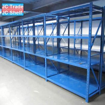 Vertical Metal Warehouse Medium Duty Storage Rack and Metal Storage Shelf