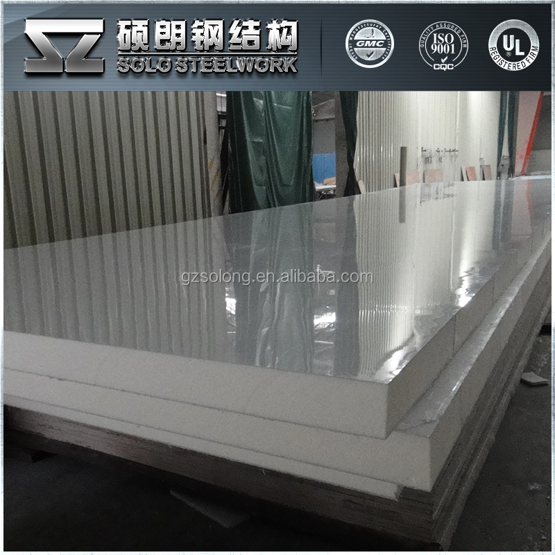 Quality Cold Room PU Sandwich Wall Panel
