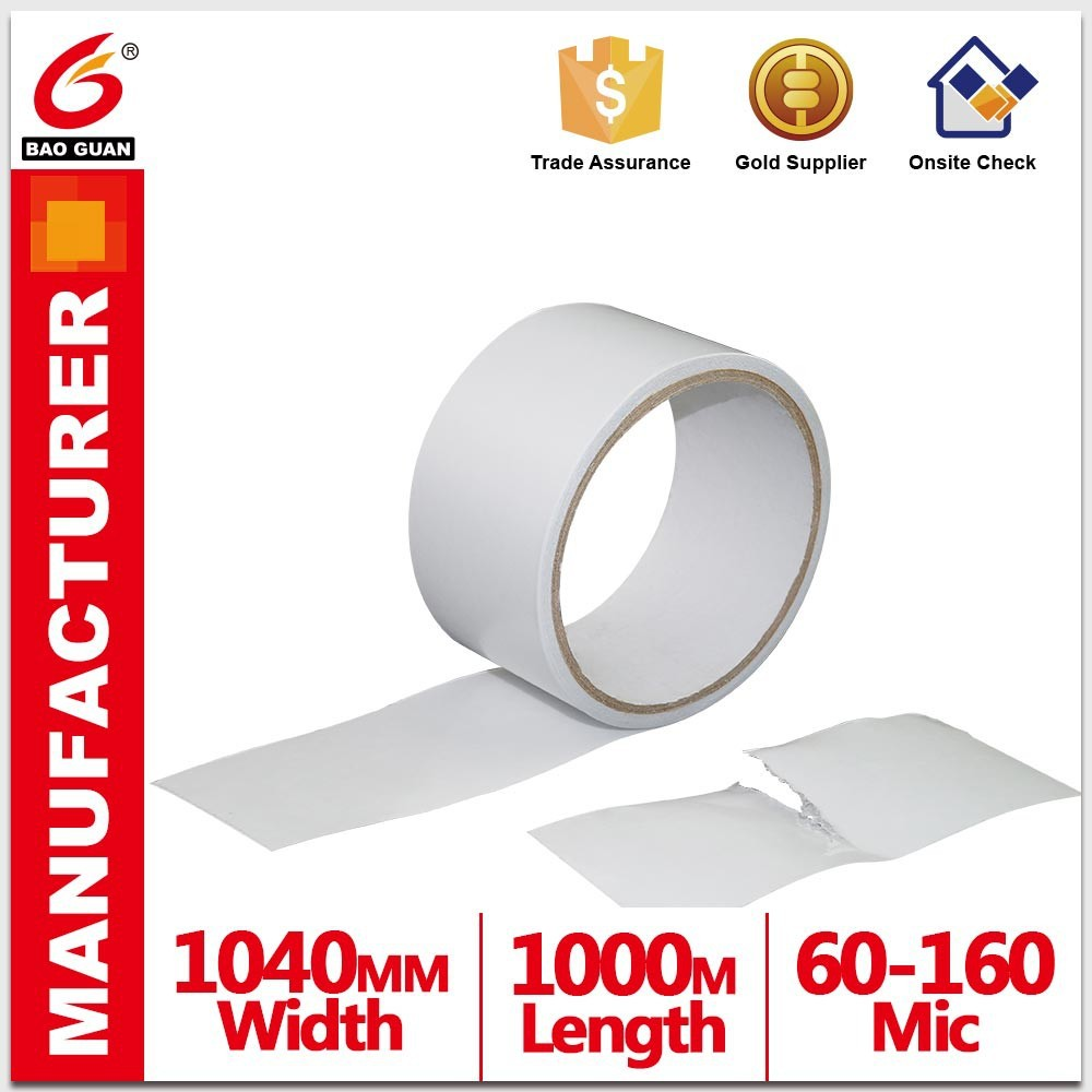 hot sell Pet Double Sided Tape With Pp Or Pe Release Film
