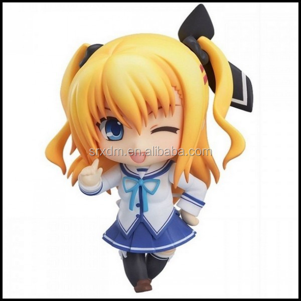 Japanese Kawaii 3d Pvc Action Figure Customized Pvc
