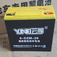 48v 1000w electric rickshaw passenger tricycle battery 6-dzm-20 20ah