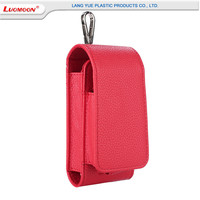 Best Selling in Japan In 2017 For iQOS Electronic Cigarette Leather Case Flip Protective Pouch Bag With Litchi Pattern