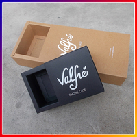 2017 matte lamination custom hair extension packaging, folding drawer paper hair extension packaging box