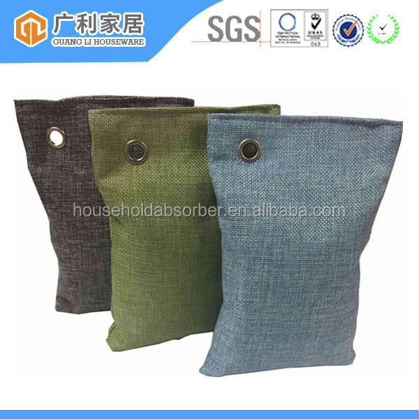 Wholesale Moso Bamboo Shoe Deodorizer Bag Absorb Odor