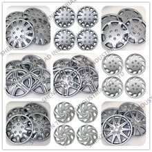 12 13 14 15 16 Inch Size ABS /PP Plastic Car Wheel Cover Silver /Chrome Finishing Car Wheel Cap For Universal Cars