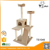 Waterproof Durable Healthy Cat Scratcher Cardboard House