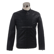 2017 Men's Popular Handsome windproof used PU Leather Jacket