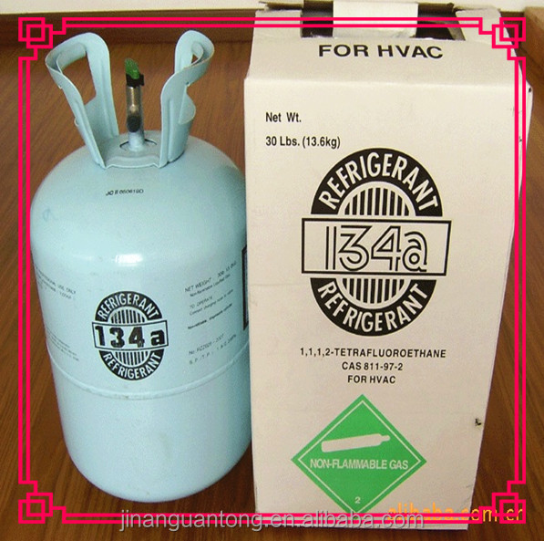 CE Refillable cylinder/ISO-TANK //TON cylinder and small can refrigerants r134 refrigerant gas