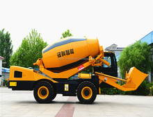 4 wheel driven second hand concrete mixer trucks for sale in malaysia