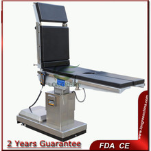 Top level hot selling with backup battery stainless steel surgical instrument table
