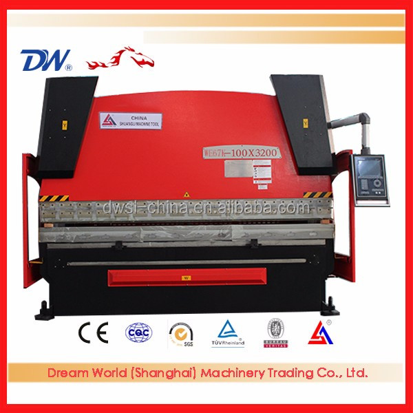 New style DA56S CNC Press brakes manufacturers for china , hydraulic steel bender , Hydraulic Metal Stamping Press brake Machine