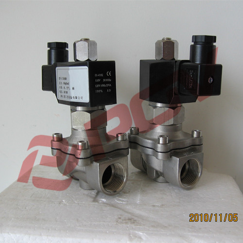 3/8inch direct acting 2 way solenoid valve 240v