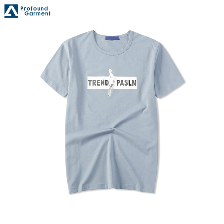 Chinese Garment Manufacturing Factory Direct Sale Bulk Promotional Cotton Screen Printing t shirt
