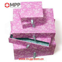 Fashion knitting scarf paper packaging gift box
