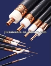 Hot product RG174 cable with solid PE,BC/TC braid shield and black jacket