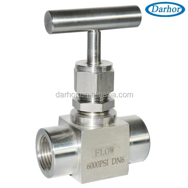 SS304 stainless steel material needle valve for liquid gas