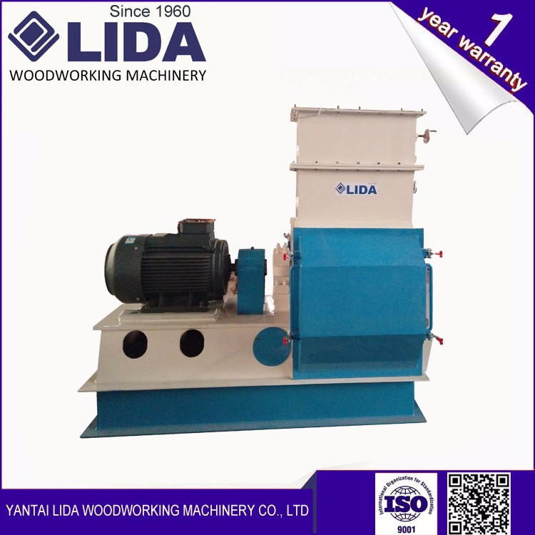 LIDA GXP130X55 Wood pellet efficient hammer Mill machine with reasonable and durable