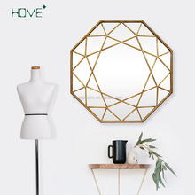 Home Pluse eco-friendly abstract antique framed mirrors wall decor