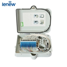 Fiber To The Home plastic material ourdoor fiber optic distribution box OEM