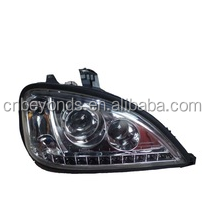 1996-2013 PROJECTOR CHROME HEADLIGHT WITH LED For Freightliner Truck