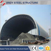 low cost industrial shed designs for coal storage