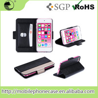 Flip Leather Case Card Slot Case for iPod Touch 6